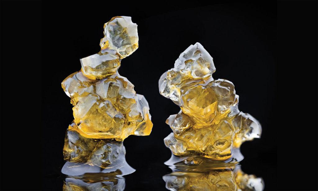 A Photographer's Journey Inside the Super-Shiny World of THCA Diamonds