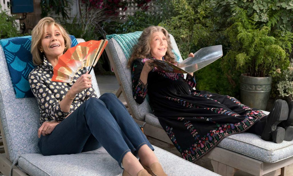 'Grace & Frankie': Seniors Who Smoke