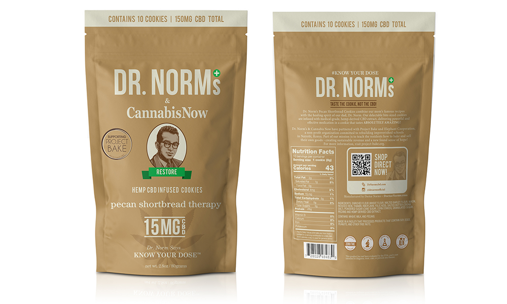 Project Bake Dr. Norms partners with Cannabis now cookie