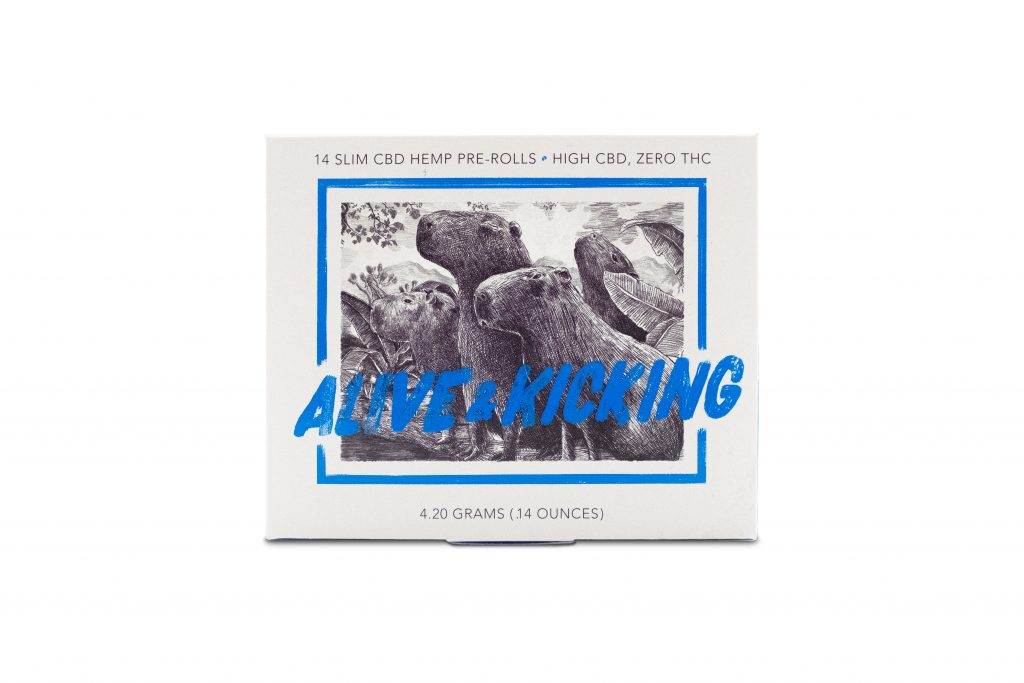 Alive & Kicking Organic Hemp Pre-Rolls