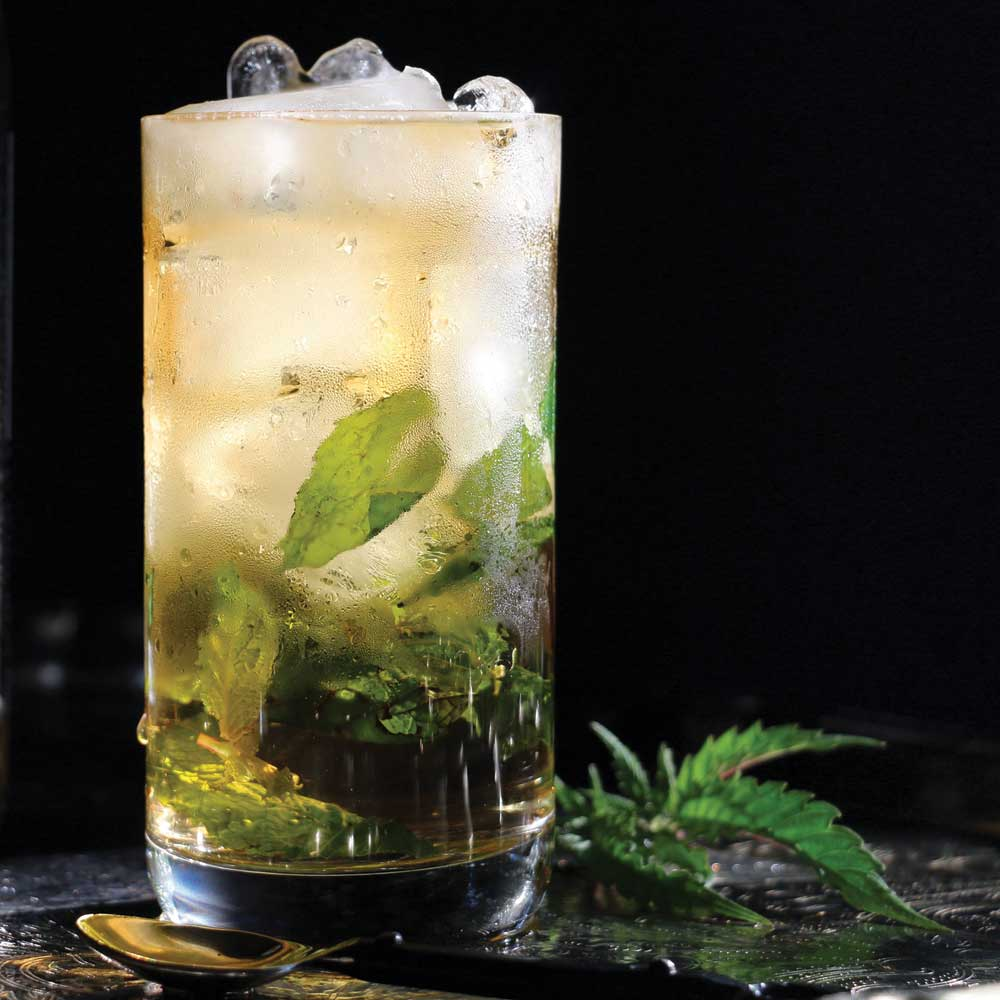 Cannabis-Infused Mojito Mocktail