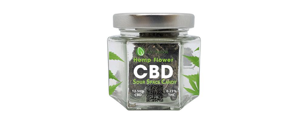 Zion Herbals Sour Space Candy Hemp Flower