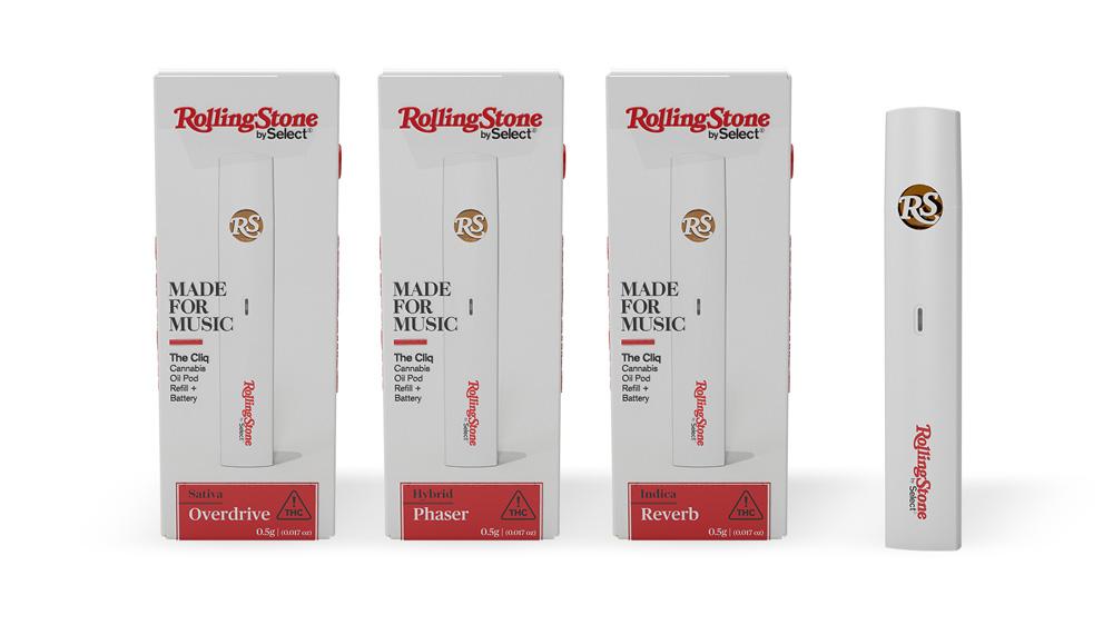 Rolling Stone by Select Cliq Vaporizer